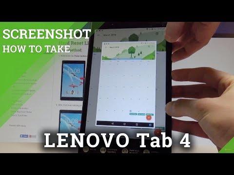 How To Take Screenshot On Lenovo Tab 4 Capture Screen Methods Hardreset Info Youtube