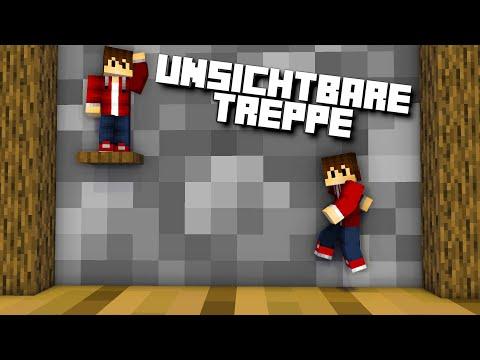 ✔ 10 komische Treppen in Minecraft | LarsLP