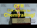 Daily Digest - John O. Brennan Speaks to CFR on Chemtrails