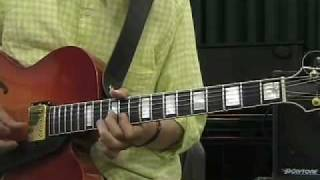Takashi Nakamura  Jazz Guitar lesson Part I  Sonny moon for Two (Bb Blues)