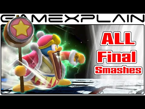 All 51 characters' final smashes in Super Smash Bros. on Wii U