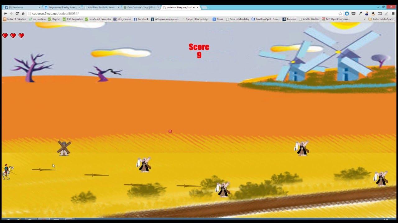 Don Quixote Game