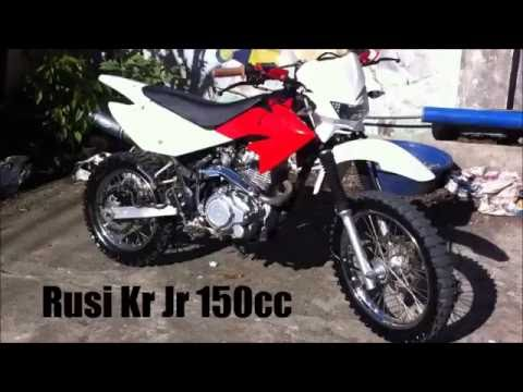 Rusi Kr Jr 150cc Modified Hrc Pipe Exhaust Youtube