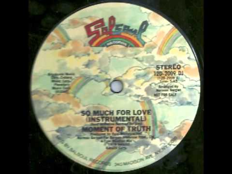 Moment Of Truth -  so much for love  instrumental  .flv