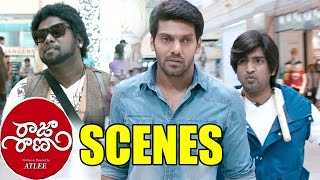 Comedy Kings - Jhon And His Friend Went To Beat Enemies Super Comedy Scene - Aarya, Santhanam