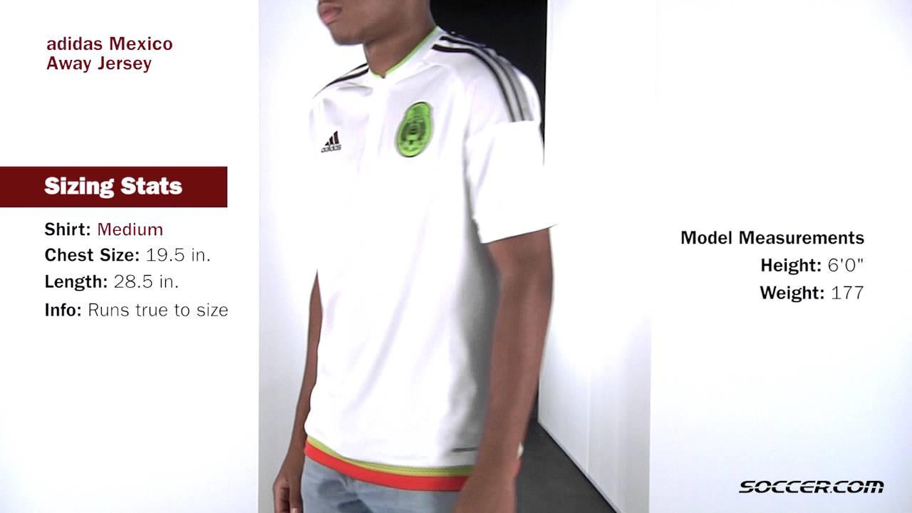 2ed2c45eb adidas Mexico Away Jersey 2015 - YouTube