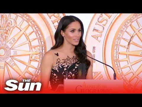Meghan Markle stuns in £4,600 Oscar de la Renta ball gown ($5,900)