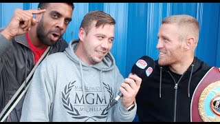TERRY FLANAGAN'S INTERVIEW WITH JAMES HELDER HIJACKED BY KUGAN CASSIUS' UNEXPECTED & ANIMATED RANT!