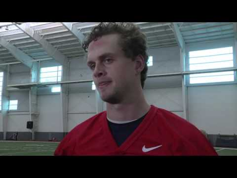 Football | First Day of Spring Ball Max Browne