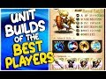 LANGRISSER MOBILE: The Unit Builds Of The Top 10 Players (Dalsis Server - April 2019)