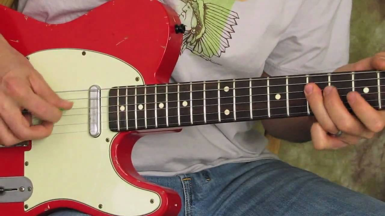 Chicken Picking Guitar Lesson - Country - Rock - Shred - hybrid picking