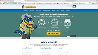 How To Make a WordPress Website (or Blog) with HostGator 2019