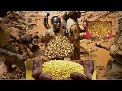 Gold Mountain Found In Africa Congo DRC ❗- Thousands Of People Rushed To Dig With Their Bare Hands