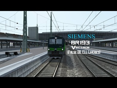 TS2017: Siemens BR193 Vectron (False DB, ELL Livery)
