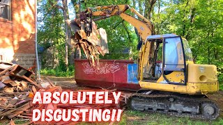 Removing a Mountain of Garbage from an Abandoned Church!