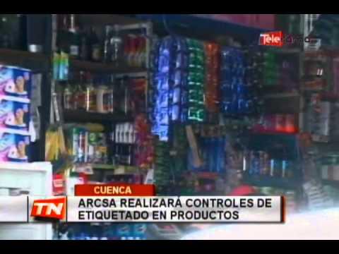 Arcsa realizará controles de etiquetado en productos