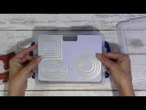 Zutter Handy Size Magnetic Die Stamp Storage System