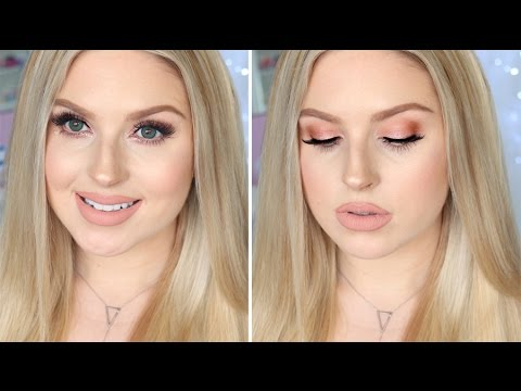 Makeup For Fair Or Pale Skin ♡ Glam Daytime Rose Gold