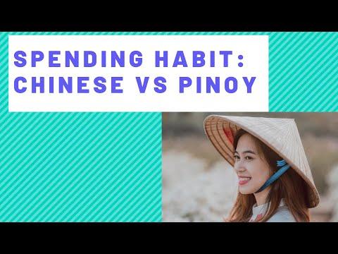 Spending Habit Chinese vs Pinoy