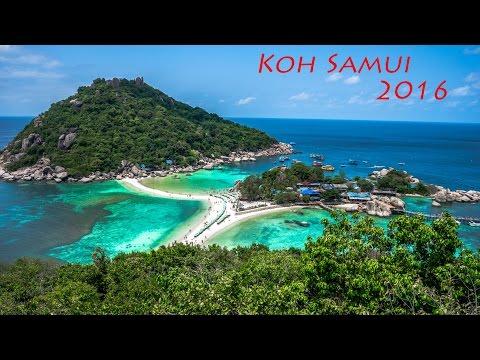 Koh Samui☀Koh Tao☀Angthong National Marine Park 2016 GoPro HD