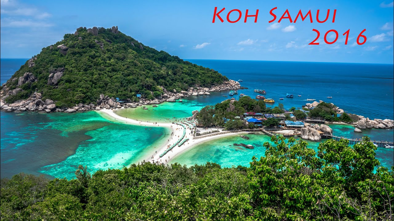 Koh Samui☀koh Tao☀angthong National Marine Park 2016 Gopro Hd Youtube