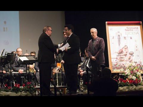 VÍDEO: Acto de presentación del Cartel de la Semana Santa de Lucena 2020