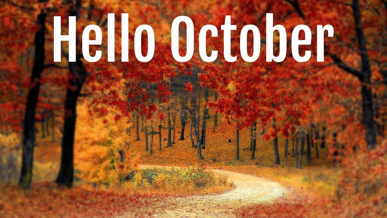 Goodbye September Hello October Images Quotes Pictures Happy New Month
