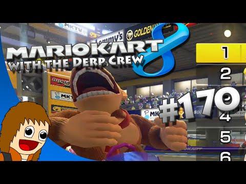 Mario Kart 8: Team Salt 'n Malt - Part 170 (w/ The Derp Crew)