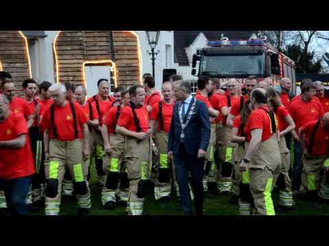 160412 - Start 100 feest Brandweer De Bilt