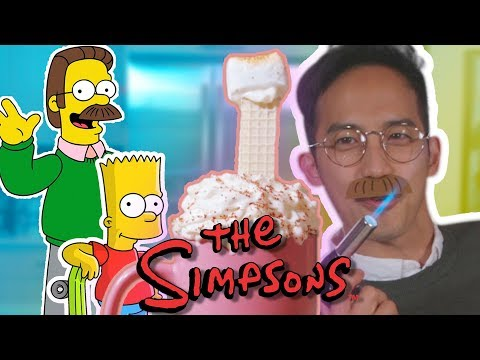 HOW TO MAKE Ned Flanders' Hot Cocoa from The Simpsons Movie!