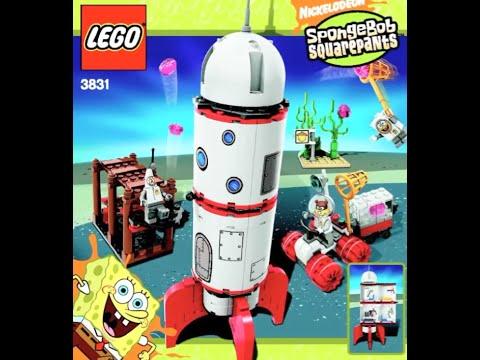 How To Build Lego Spongebob Rocket Ride 3831 Instructions Youtube