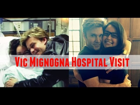 Vic MIGNOGNA HOSPITAL 2012 Visit  5 YEARS LATER