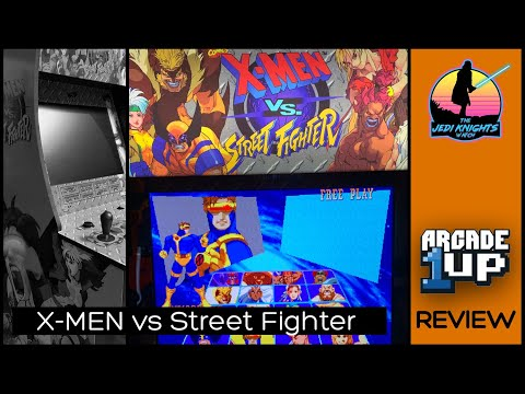 Arcade1UP X-MEN VS Street Fighter Review from The Jedi Knights Watch