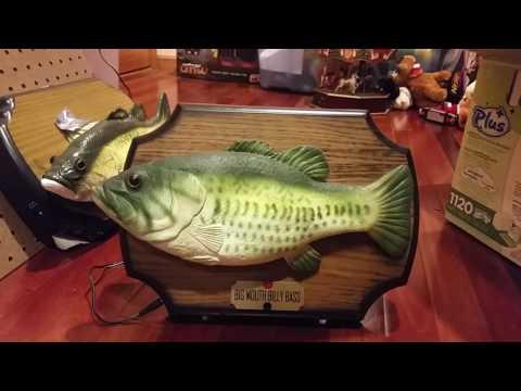 Rare 2000 Version Of Big Mouth Billy Bass Singing Fish