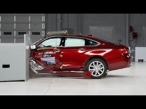 2017 Chevrolet Impala Small Overlap IIHS Crash Test