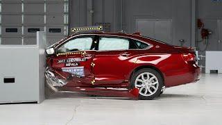 2017 Chevrolet Impala driver-side small overlap IIHS crash test