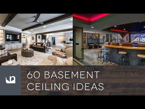 60 Basement Ceiling Ideas