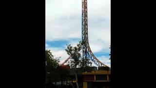 Superman in Six Flags LA