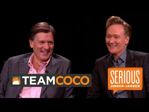 Author Michael Lewis — Serious Jibber-Jabber with Conan O'Brien