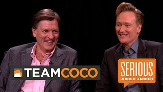 Author Michael Lewis — Serious Jibber-Jabber with Conan O