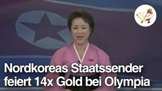 Nordkoreas Staatssender feiert 14x Gold bei Olympia