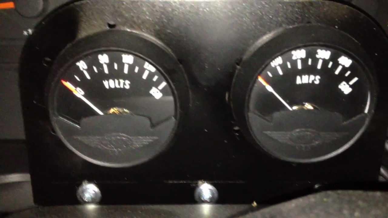 medium resolution of ev conversion guide part 30 extras amp meter volt meter