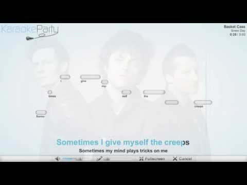 Green Day - Basket Case - karaoke
