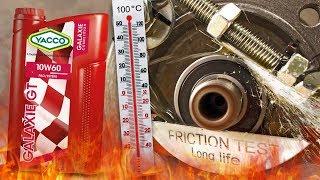 Yacco Galaxie GT 10W60 Jak skutecznie olej chroni silnik? 100°C