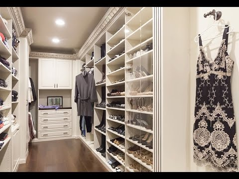 Small Walk-in Closet Ideas for small places - YouTube