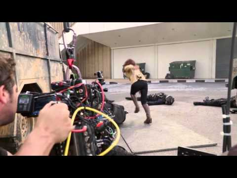 CAPTAIN AMERICA: CIVIL WAR - Behind The Scenes B-Roll Footage Scarlett Johansson
