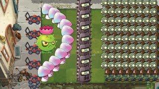 Plants vs Zombies 2 - Hypno Shroom, Endurian vs all Zombies