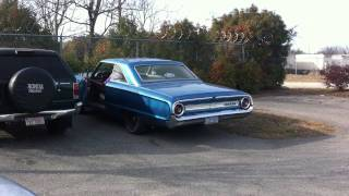 1964 Ford Galaxie 500 New Exhaust