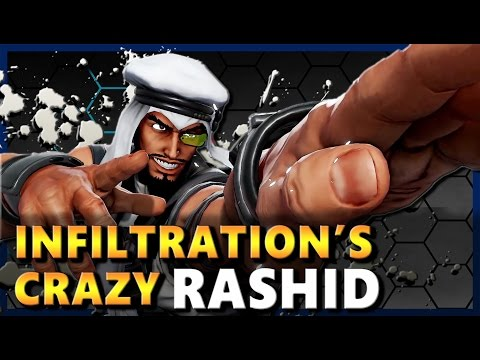 Infiltration ( SICK Rashid ) Vs Online Warriors [Compilation] - SF5 / SFV
