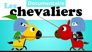 CHÂTEAU FORT CHEVALIERS et PRINCESSE mini documentaire pour maternelles - la récré des ptits loups